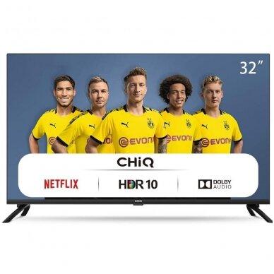 32'' SMART TV CHIQ L32H7N televizorius