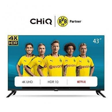 43'' SMART TV CHIQ U43H7L televizorius