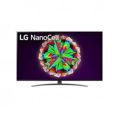55'' SMART 55NANO813NA LG NanoCell 4k Wi-Fi Smart televizorius