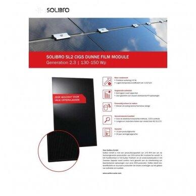 "Saulės modulis ""Solibro"" SL2-145 G2.3 UF 145Wp 4"